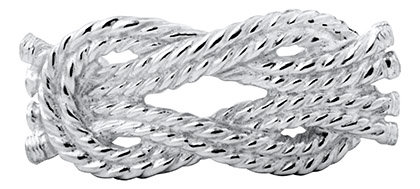 Lestage Knotted Rope Clasp