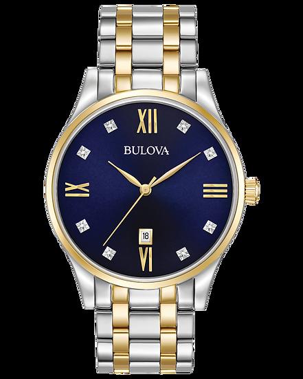 Bulova Classic Watch with Diamonds