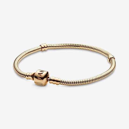 Pandora Moments Solid Gold Clasp Bracelet