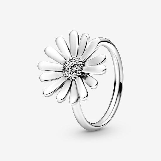 Pandora Pavé Daisy Flower Statement Ring