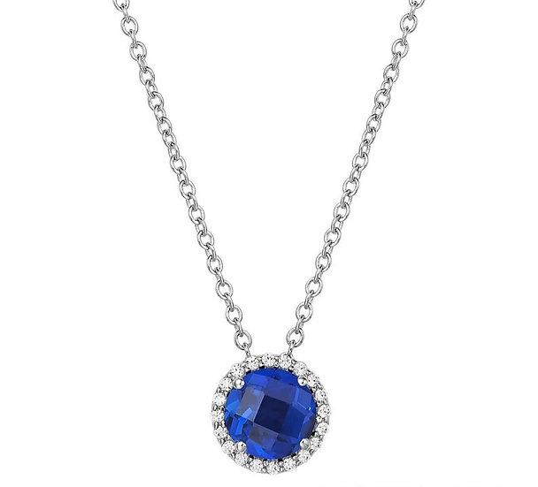 Lafonn Lab Grown Sapphire Necklace