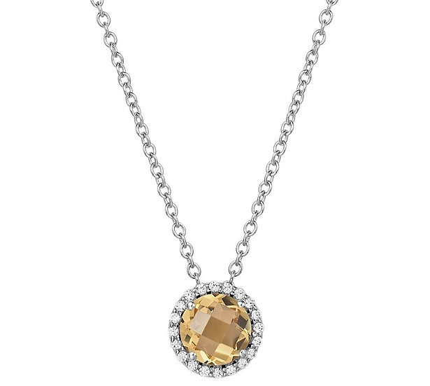 Lafonn Citrine Necklace