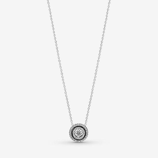 Pandora Double Halo Collier Necklace