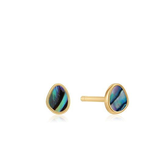 Tidal Abalone Stud Earrings
