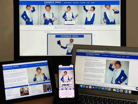 Nieuwe website online: www.showman.nl