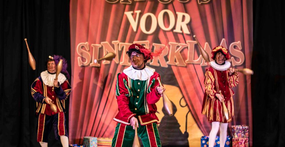 sinterklaas show pieten circuspiet voorp
