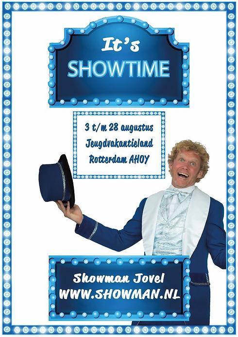 Showman Jovel Jeugdvakantieland Rotterda