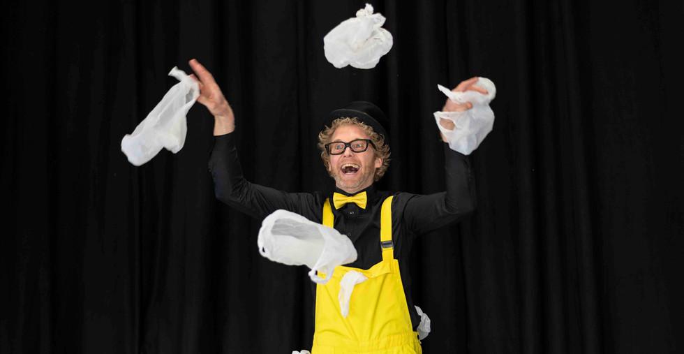 plastic soep kindershow voorstelling afv