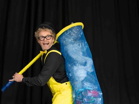 NIEUW: Magic Recycle Show - Thema voorstelling Plasticsoep, milieu & zwerfafval