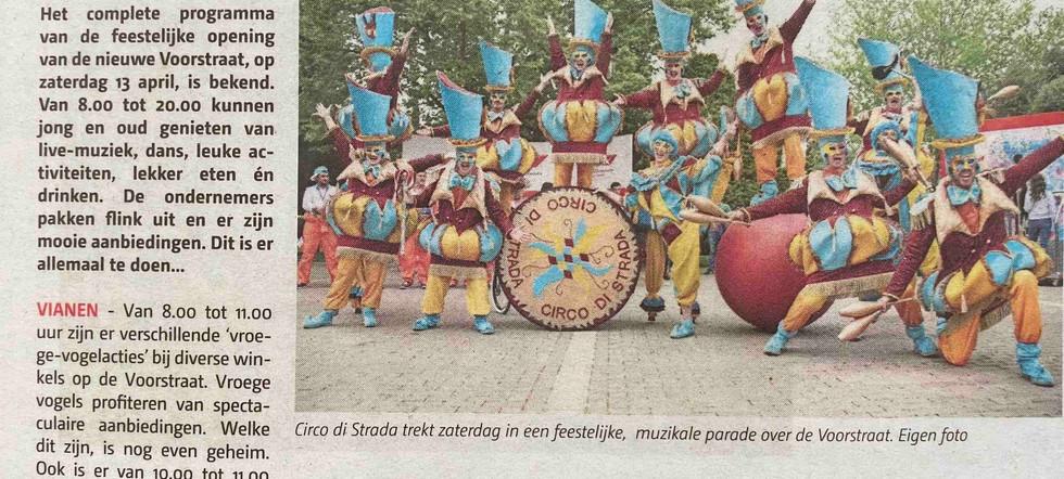 Voorstraat Vianen Circo di Strada Circus