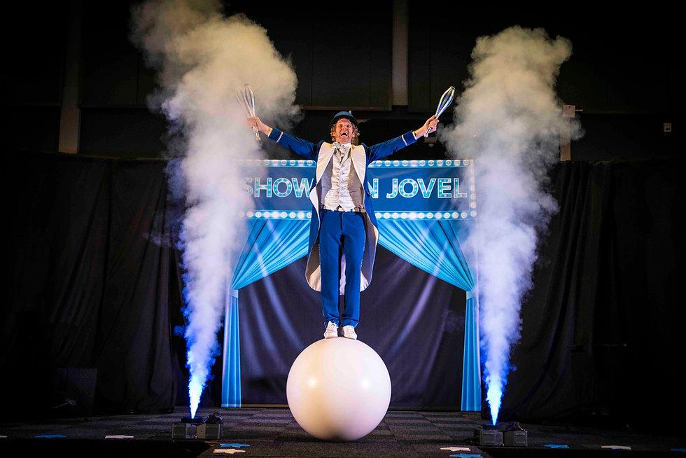 Showman Jovel Jori Veldhuizen circus kin
