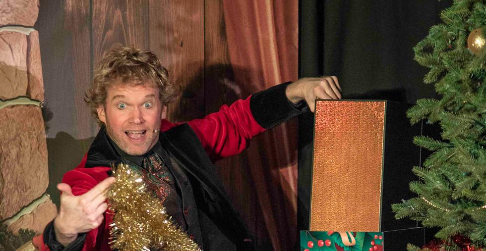 Goochelaar show voorstelling kerst kinde