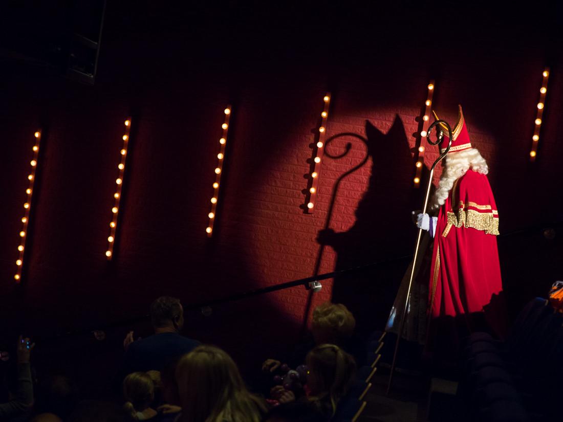 Sinterklaas show voorprogramma sint kind