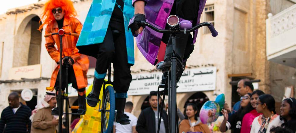 UniQcycle roaming entertainment bikes bi