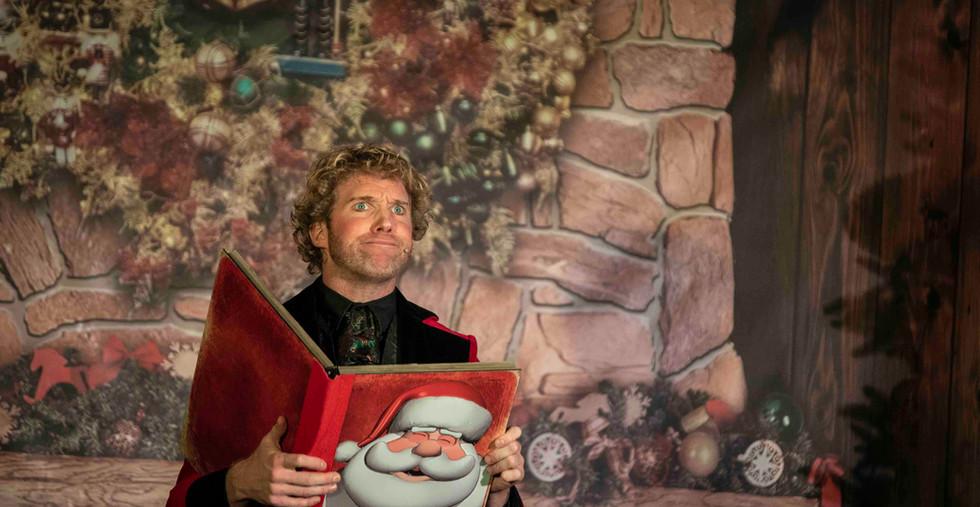 Voorstelling Goochelaar Kerst Kerstfeest