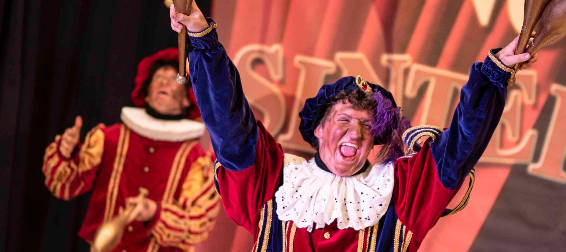 jongleerpiet jongleren pieten circuspiet
