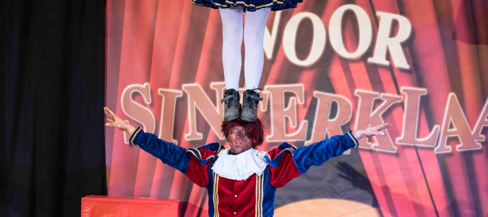 acrobatenpieten acrobaten pieten circusp