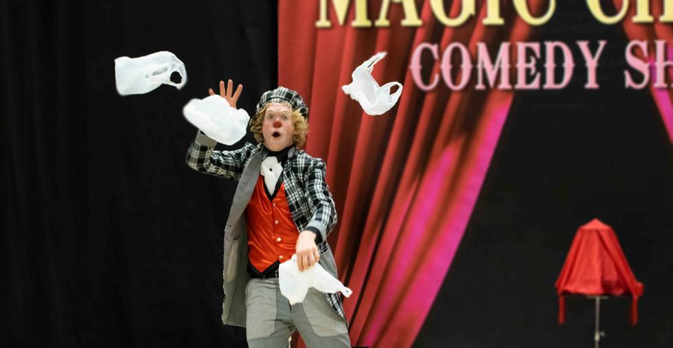 voorstelling scholen school circus kinde