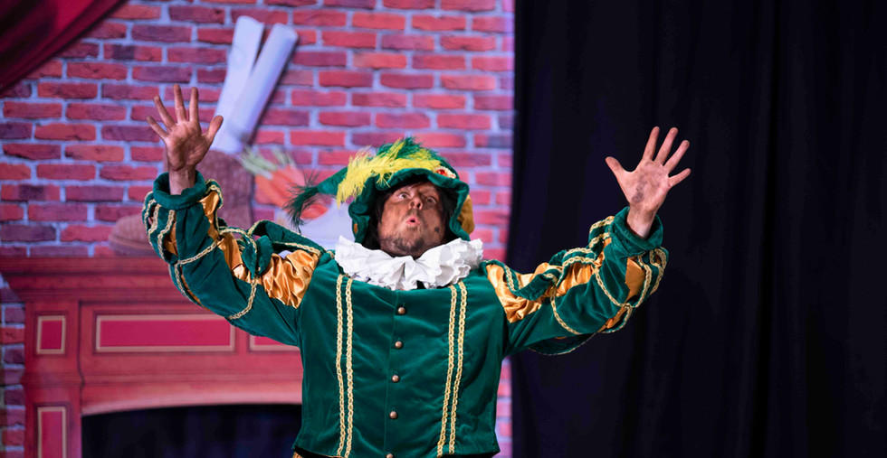 Sinterklaasshow theatershow sinterklaas