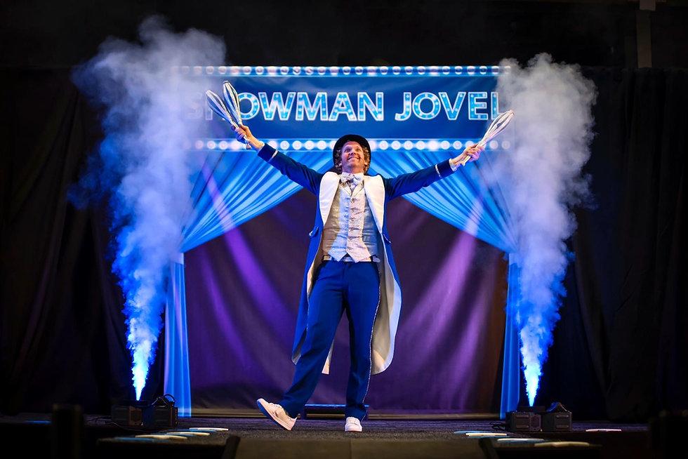 Showman Jovel Goochelaar Entertainer Pre