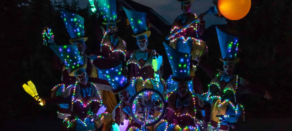 Circo di Strada by Night Lights Parade L