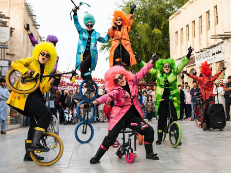 UniQcycle in... Qatar! 25 jaar artiest - Anekdote 22