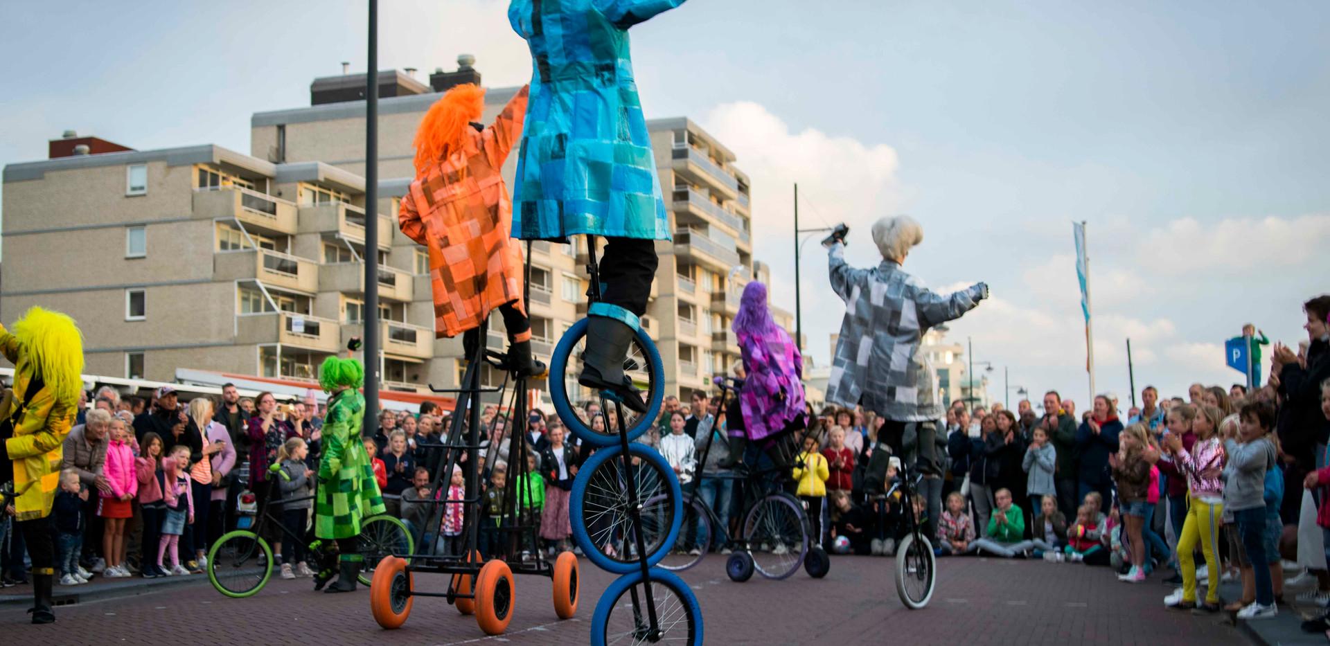 UniQcycle fiets entertainment promotie s