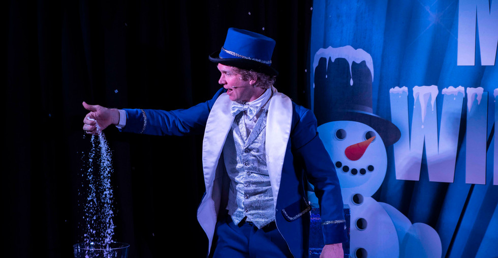 Magische Wintershow show theater thema w