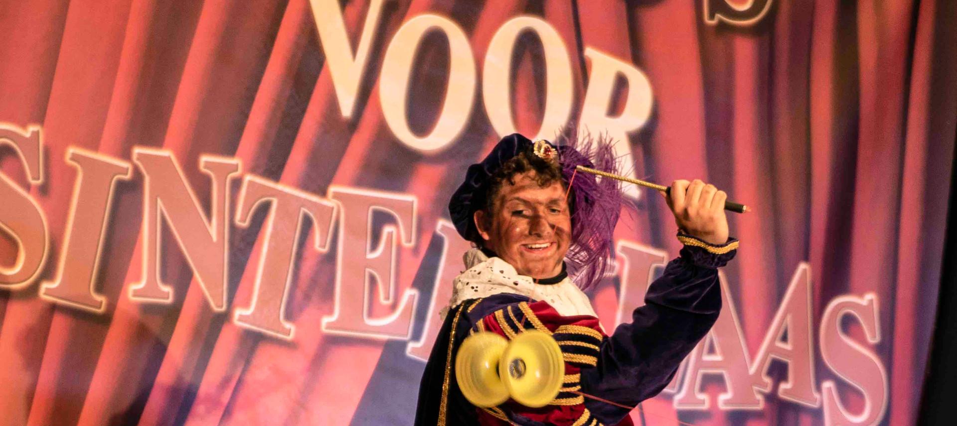 circus voor sinterklaas diabolo voorstel