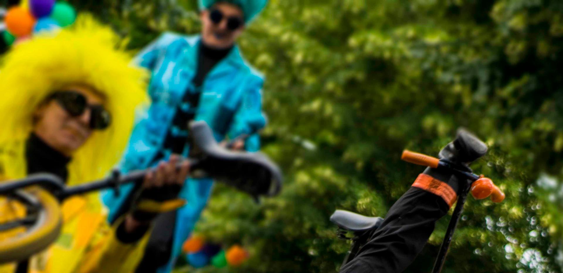 UniQcycle velo du future bikers family c