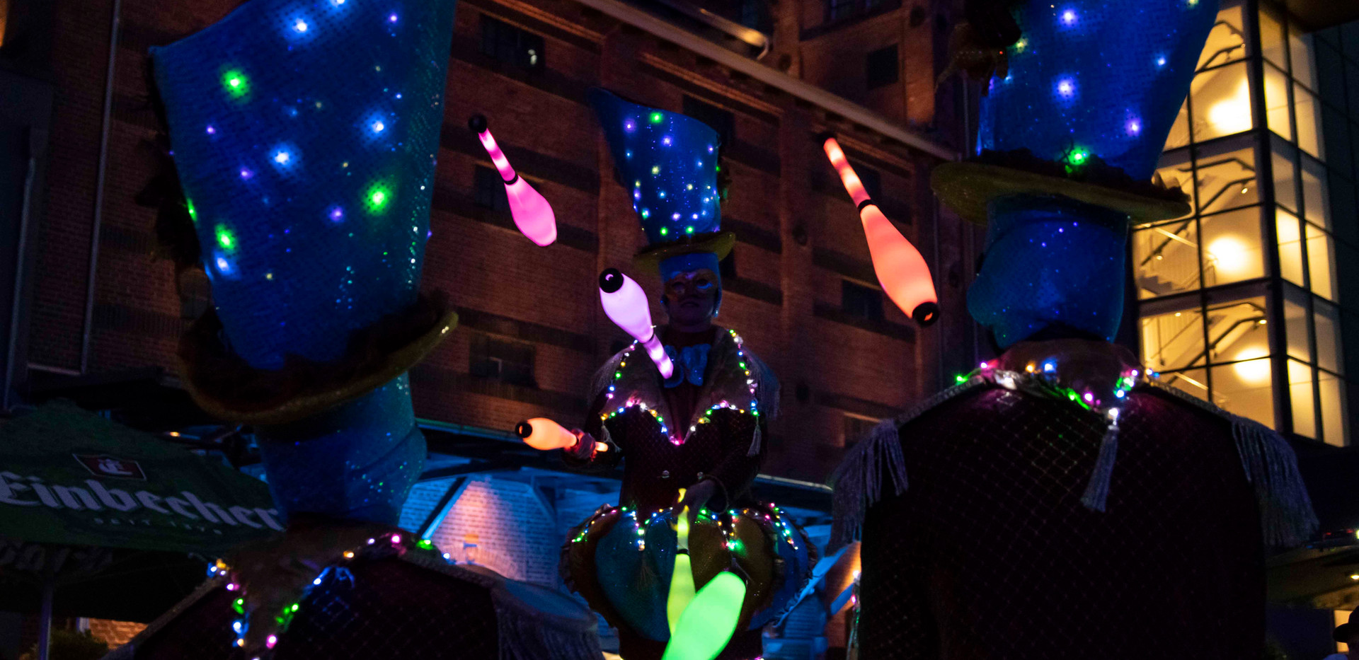 Circo di Strada by Night Streetcircus Li