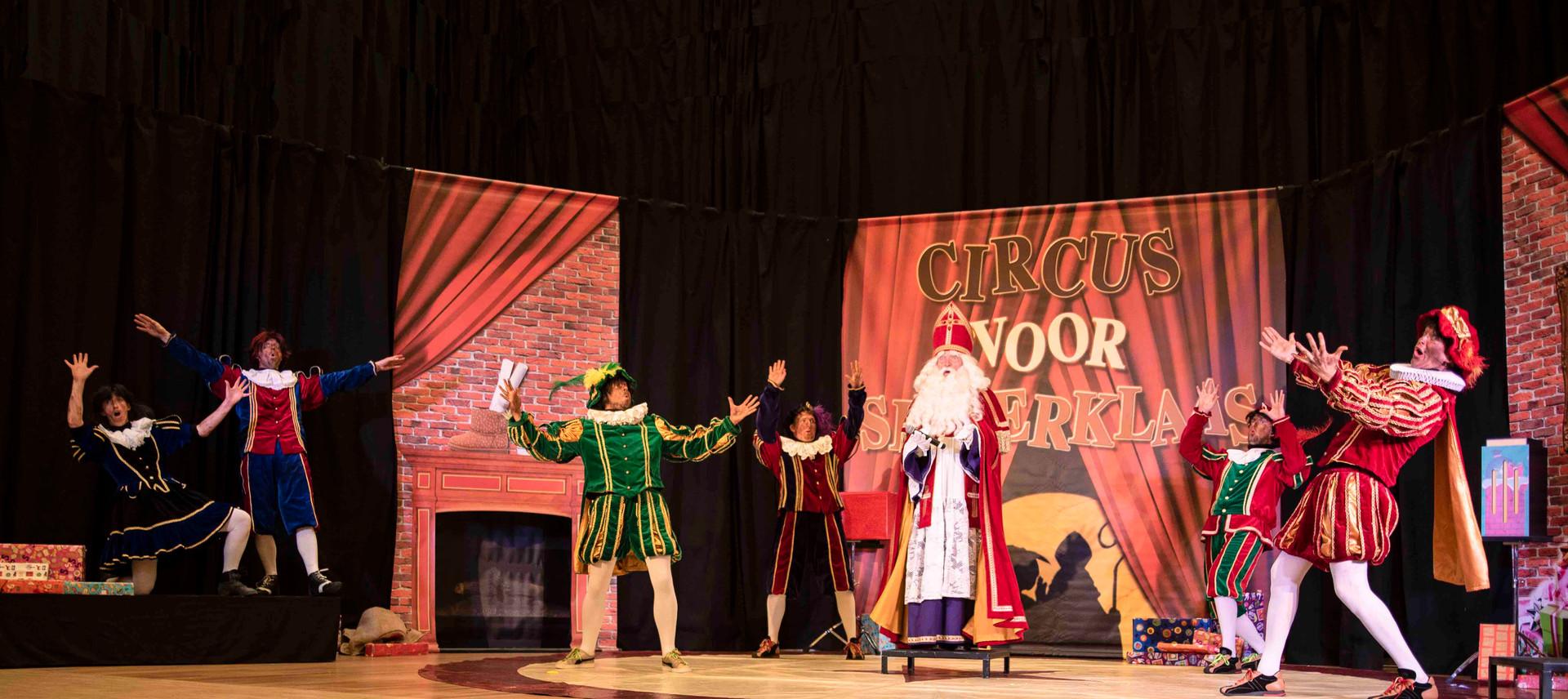 Sinterklaas goochelshow goochelaar voorp