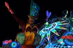 Circo di Strada by Night Kermis Funfair