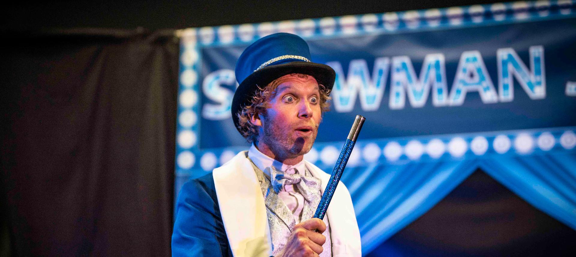 showman jovel goochelaar kinderen voorst