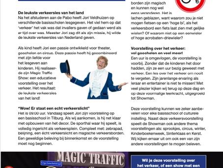 """PrimaOnderwijs: """"Meester in het verkeer: Showman.nl"""""""