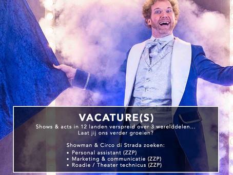 Vacature(s) online voor Showman & Circo di Strada