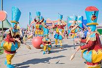 Circo di Strada parade walkact walkabout