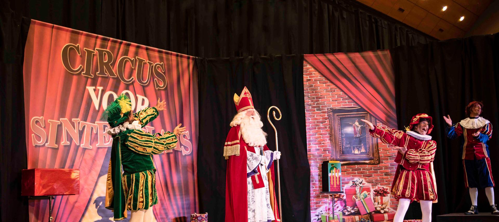 Theater sinterklaas show voorstelling be
