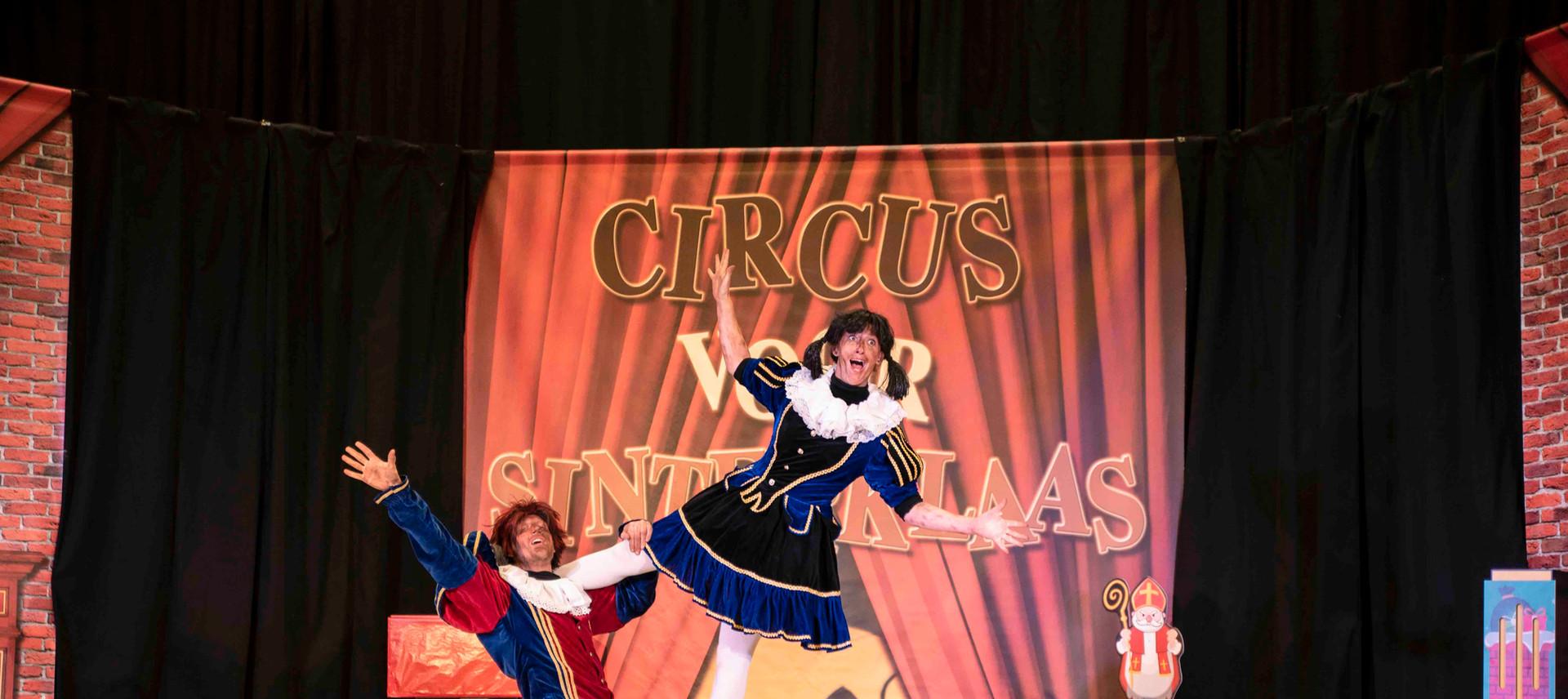 Circus voor Sinterklaas acrobatenpiet ac