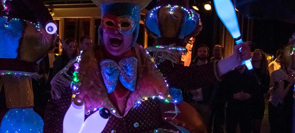 Circo di Strada by Night LED Lights Illu