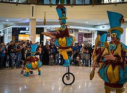 Dubai shopping festival Circo di Strada