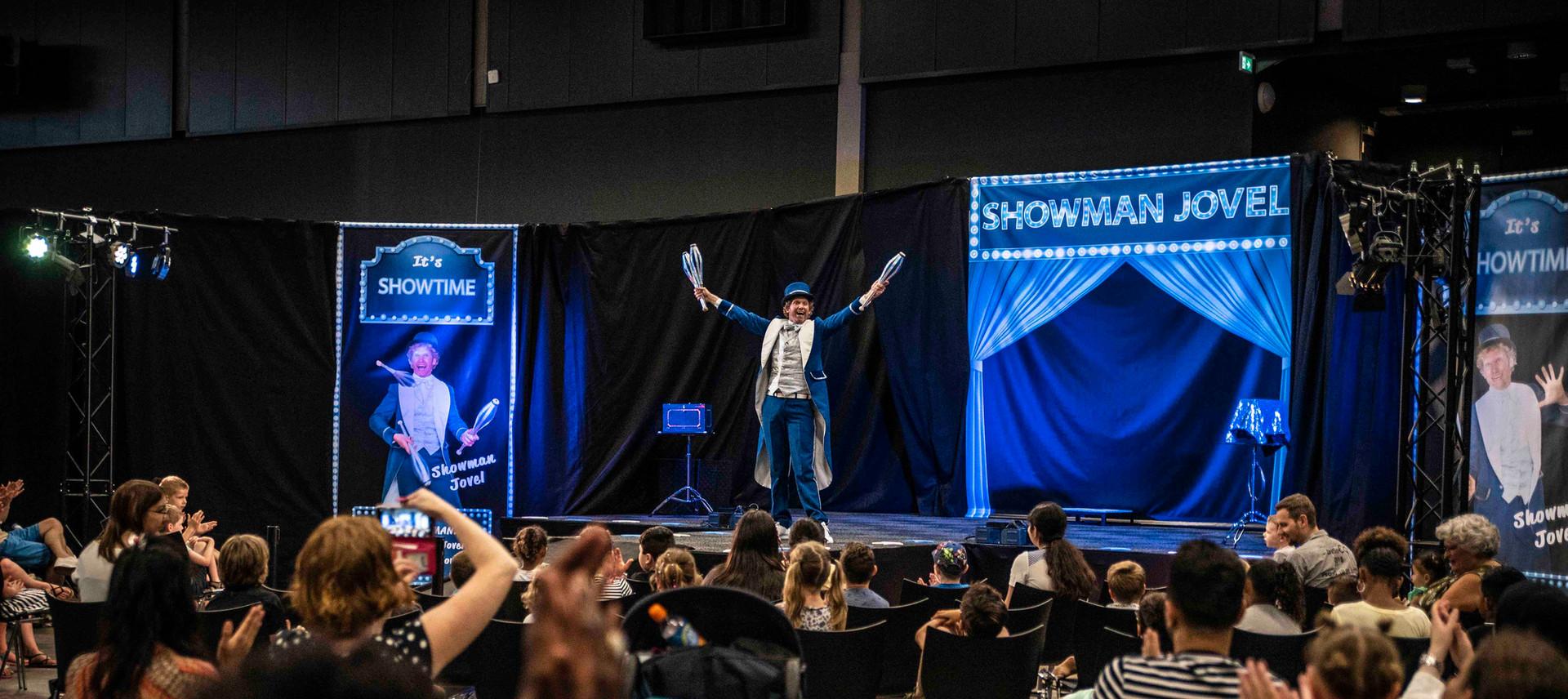 showman jovel theater ahoy goochelaar ki
