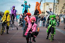 UniQcycle circus cirque zirkus bikes bik