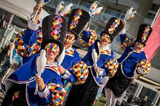 Cirque Masqué jongleren circus cirque pa