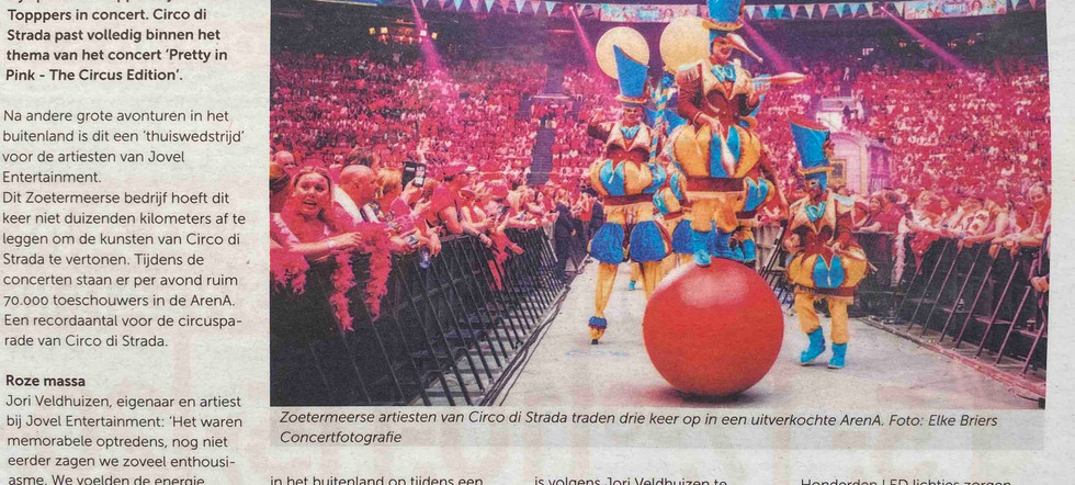 Toppers in Concert Circus Edition Arties