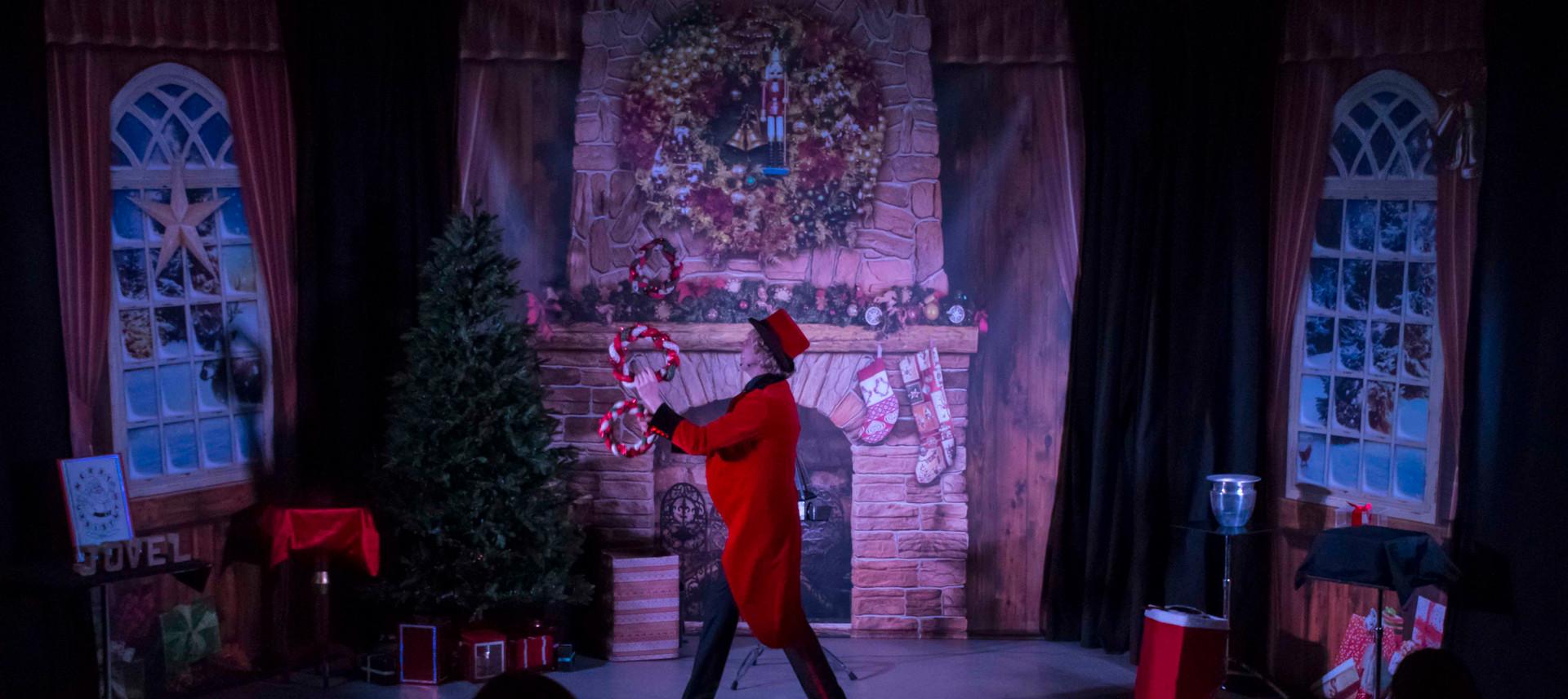 Magic Christmas Show Kerst Kerstmis Voor
