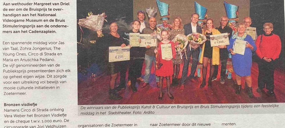 Circo di Strada Visdiefje Zoetermeer Jor