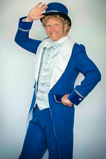 Showman Jovel goochelaar circus artiest