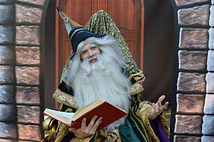 Sprookjes tovenaar voorstelling magie ki