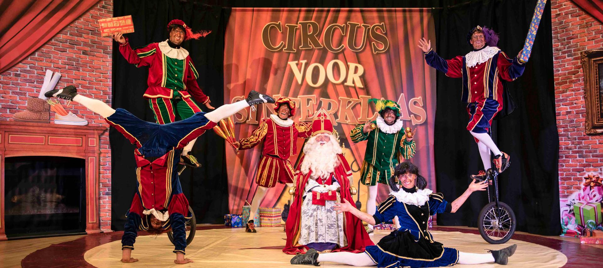 Circus voor Sinterklaas Circuspiet Show